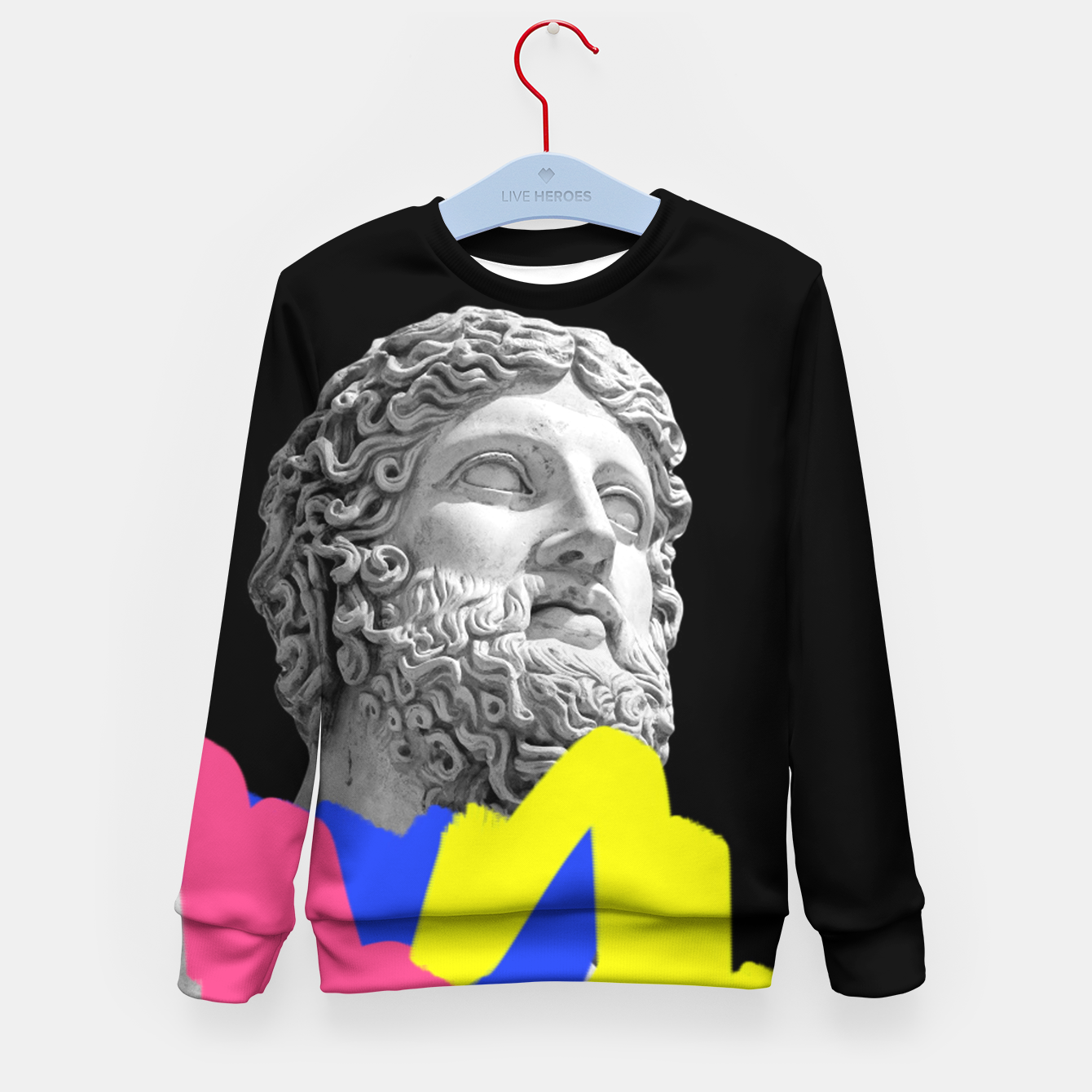 Image of  Diogenes of Sinope Kid's Sweater - Live Heroes
