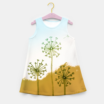 Miniatur Make a wish Girl's Summer Dress, Live Heroes