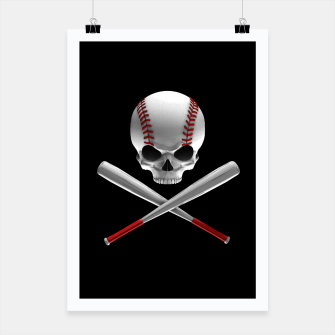 Thumbnail image of Phantom Ballplayer Poster, Live Heroes