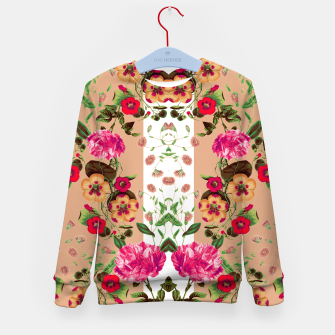 Miniatur Flicker Flora Kid's Sweater, Live Heroes