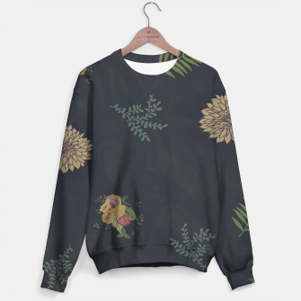 Thumbnail image of simple flowers Sweater, Live Heroes