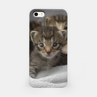Miniatur Photo of a group of cuddly kittens iPhone Case, Live Heroes