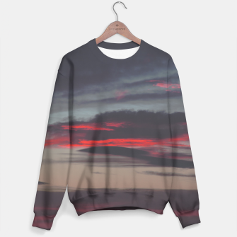 Thumbnail image of Beautiful image of the sky as night falls Sweater, Live Heroes