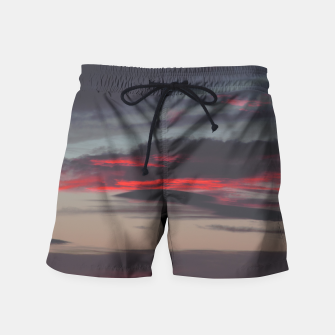 Thumbnail image of Beautiful image of the sky as night falls Swim Shorts, Live Heroes