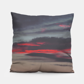Thumbnail image of Beautiful image of the sky as night falls Pillow, Live Heroes