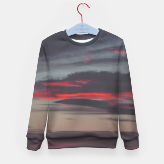 Thumbnail image of Beautiful image of the sky as night falls Kid's Sweater, Live Heroes
