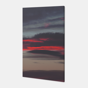 Thumbnail image of Beautiful image of the sky as night falls Canvas, Live Heroes