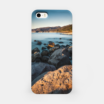 Thumbnail image of Photograph of a rocky coastline and beach iPhone Case, Live Heroes