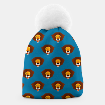 Thumbnail image of Be wild and free, little lion Beanie, Live Heroes