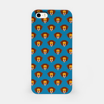 Thumbnail image of Be wild and free, little lion iPhone Case, Live Heroes