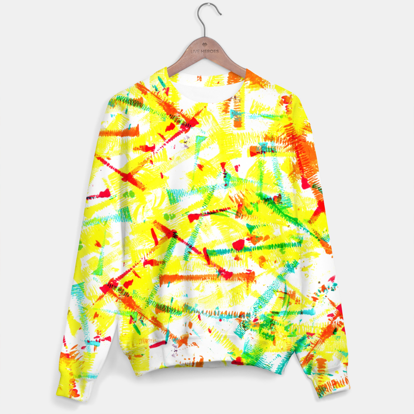 Image of Color Splotches – Sweater - Live Heroes
