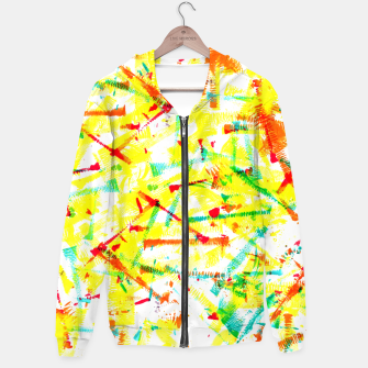 Thumbnail image of Color Splotches – Hoodie, Live Heroes