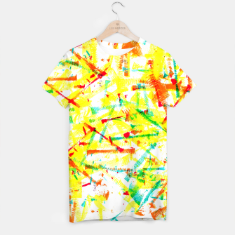 Thumbnail image of Color Splotches – T-shirt, Live Heroes