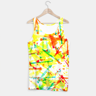 Thumbnail image of Color Splotches – Tank Top, Live Heroes