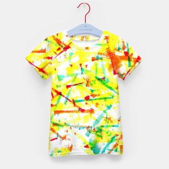 Thumbnail image of Color Splotches – Kid's T-shirt, Live Heroes