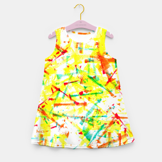 Thumbnail image of Color Splotches – Girl's Summer Dress, Live Heroes
