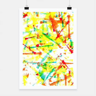 Thumbnail image of Color Splotches – Poster, Live Heroes