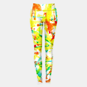 Thumbnail image of Color Splotches – Leggings, Live Heroes