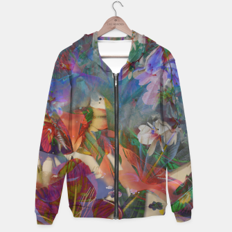 Thumbnail image of Collage LXXI Cotton zip up hoodie, Live Heroes