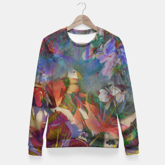 Thumbnail image of Collage LXXI Woman cotton sweater, Live Heroes
