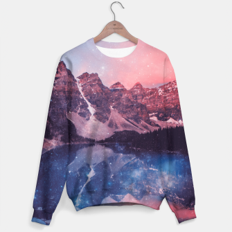 Thumbnail image of Mountainous Space Sweater, Live Heroes
