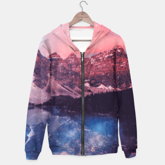 Thumbnail image of Mountainous Space Hoodie, Live Heroes
