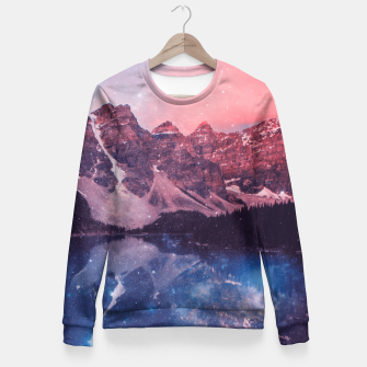 Miniaturka Mountainous Space Fitted Waist Sweater, Live Heroes