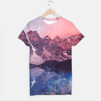 Thumbnail image of Mountainous Space T-shirt, Live Heroes