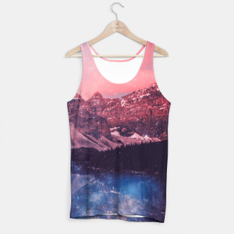 Thumbnail image of Mountainous Space Tank Top, Live Heroes