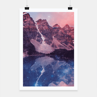 Thumbnail image of Mountainous Space Poster, Live Heroes