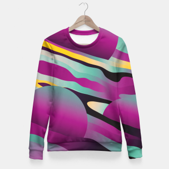 Thumbnail image of Unusual Peaches Fitted Waist Sweater, Live Heroes