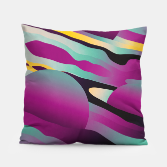 Thumbnail image of Unusual Peaches Pillow, Live Heroes