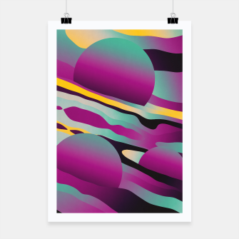 Thumbnail image of Unusual Peaches Poster, Live Heroes