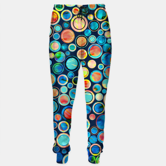 Imagen en miniatura de Dots on Painted Background Sweatpants, Live Heroes