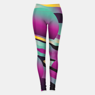Miniatur Unusual Peaches Leggings, Live Heroes