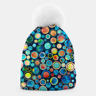 Imagen en miniatura de Dots on Painted Background Beanie, Live Heroes