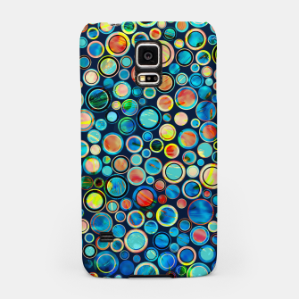 Dots on Painted Background Samsung Case imagen en miniatura
