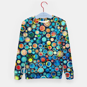 Imagen en miniatura de Dots on Painted Background Kid's Sweater, Live Heroes