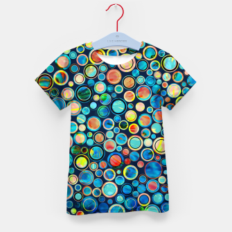 Imagen en miniatura de Dots on Painted Background Kid's T-shirt, Live Heroes