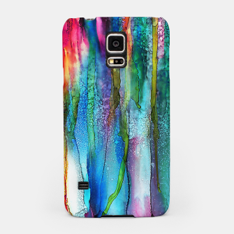 Thumbnail image of Rainbow Rain Samsung Case, Live Heroes