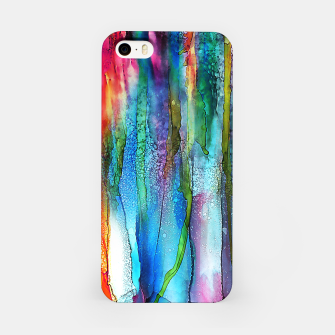 Thumbnail image of Rainbow Rain iPhone Case, Live Heroes