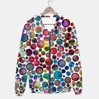 Dots on Painted Background 2 Hoodie imagen en miniatura