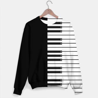 Thumbnail image of Ebony & Ivory Sweater, Live Heroes