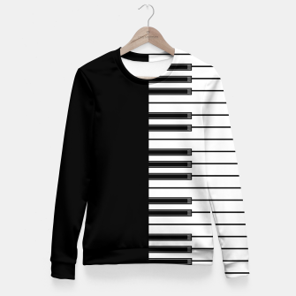 Thumbnail image of Ebony & Ivory Fitted Waist Sweater, Live Heroes