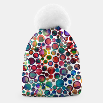 Imagen en miniatura de Dots on Painted Background 2 Beanie, Live Heroes