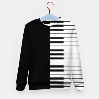 Thumbnail image of Ebony & Ivory Kid's Sweater, Live Heroes
