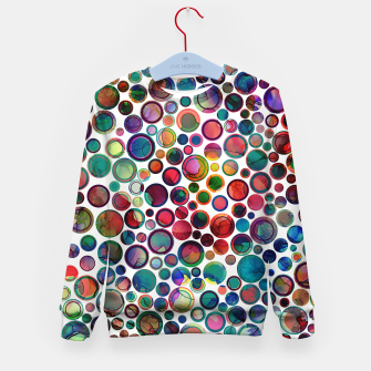 Imagen en miniatura de Dots on Painted Background 2 Kid's Sweater, Live Heroes