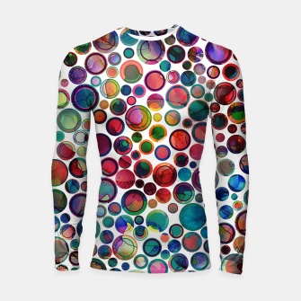 Dots on Painted Background 2 Longsleeve Rashguard  imagen en miniatura
