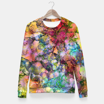 Color - The Magic of Life Fitted Waist Sweater imagen en miniatura