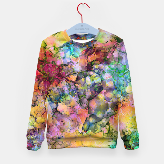 Color - The Magic of Life Kid's Sweater imagen en miniatura